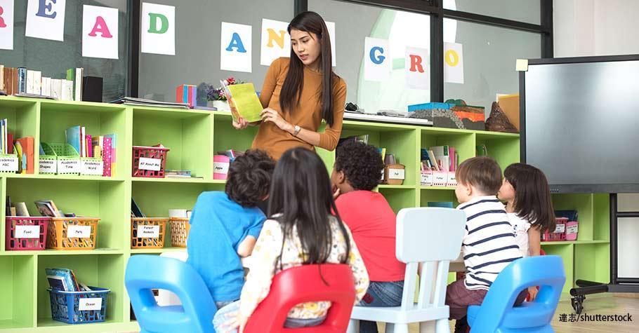 雙語學校上課情形