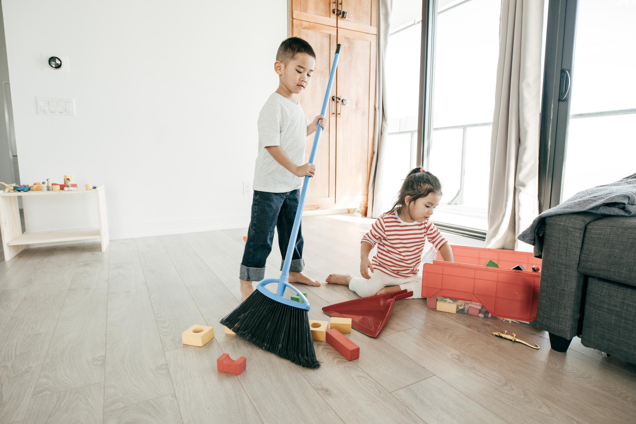 孩子自主整理家事
